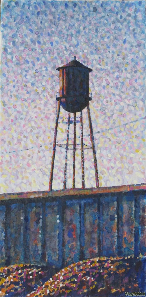 Water tower in Camden, AR just across from Gatling Heat & Air