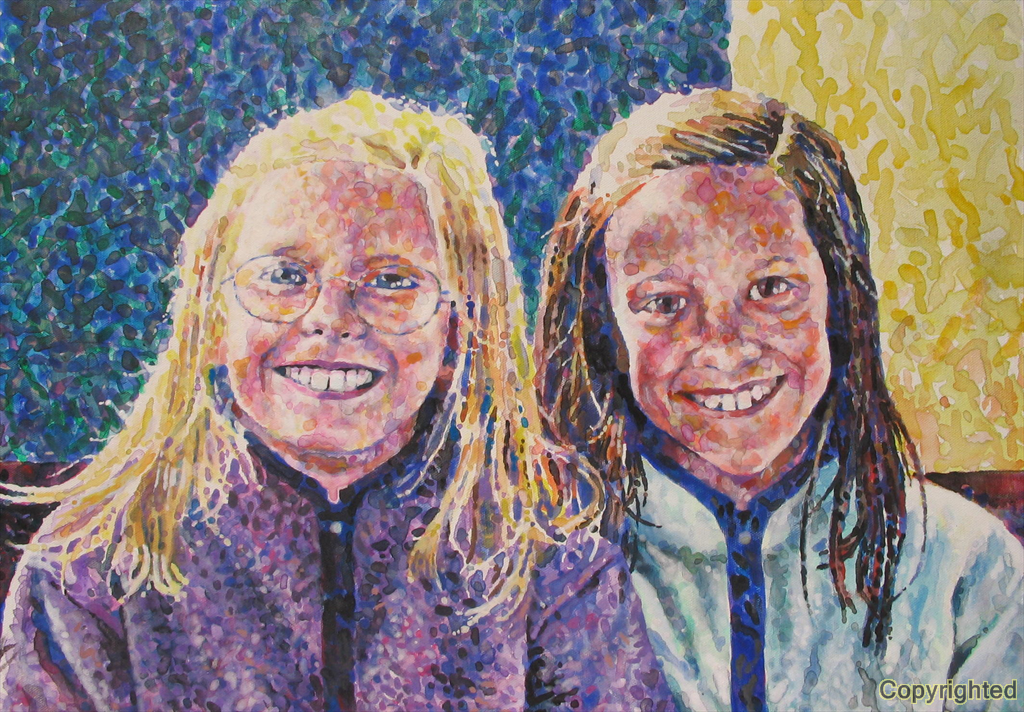 Lindsey and Erin Adams.  My smiling nieces.