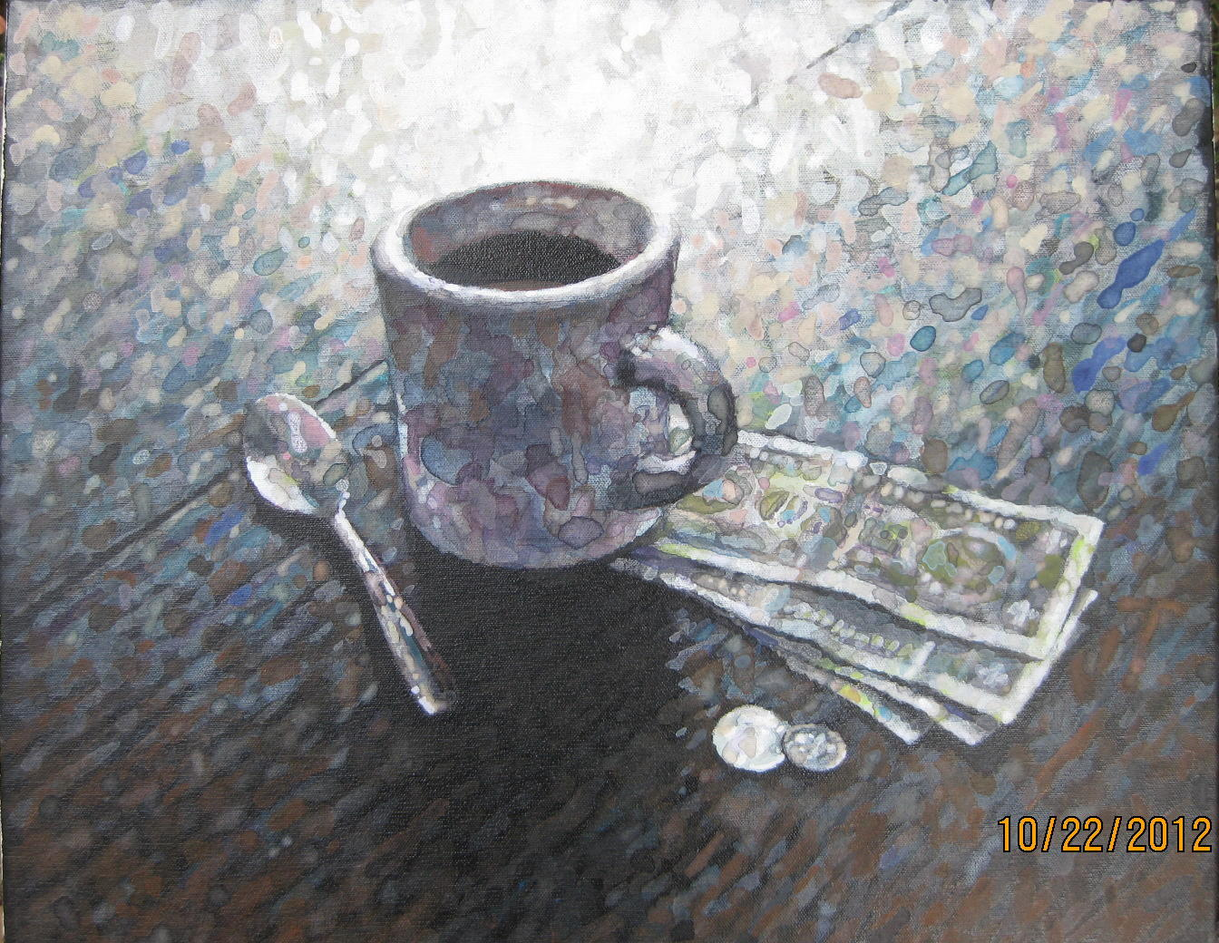 BREAKFAST AT CULLY'S 16 X 20