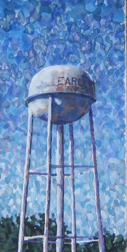 EARLE TOWER 8 X 16