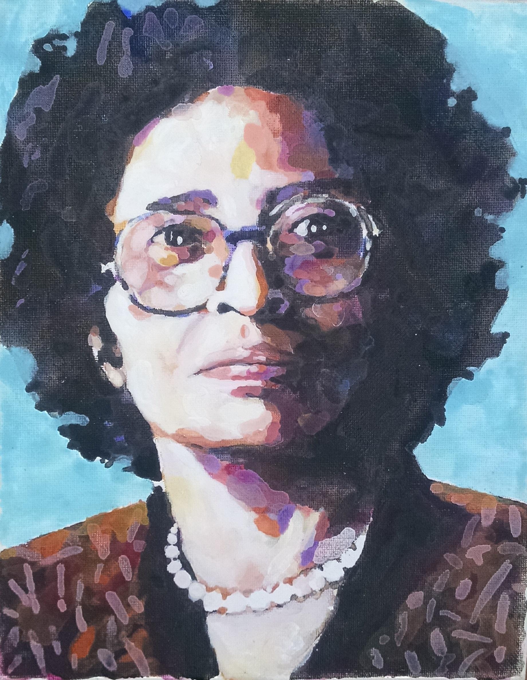 Mrs. Daisey Bates, the courageous civl rights activist
