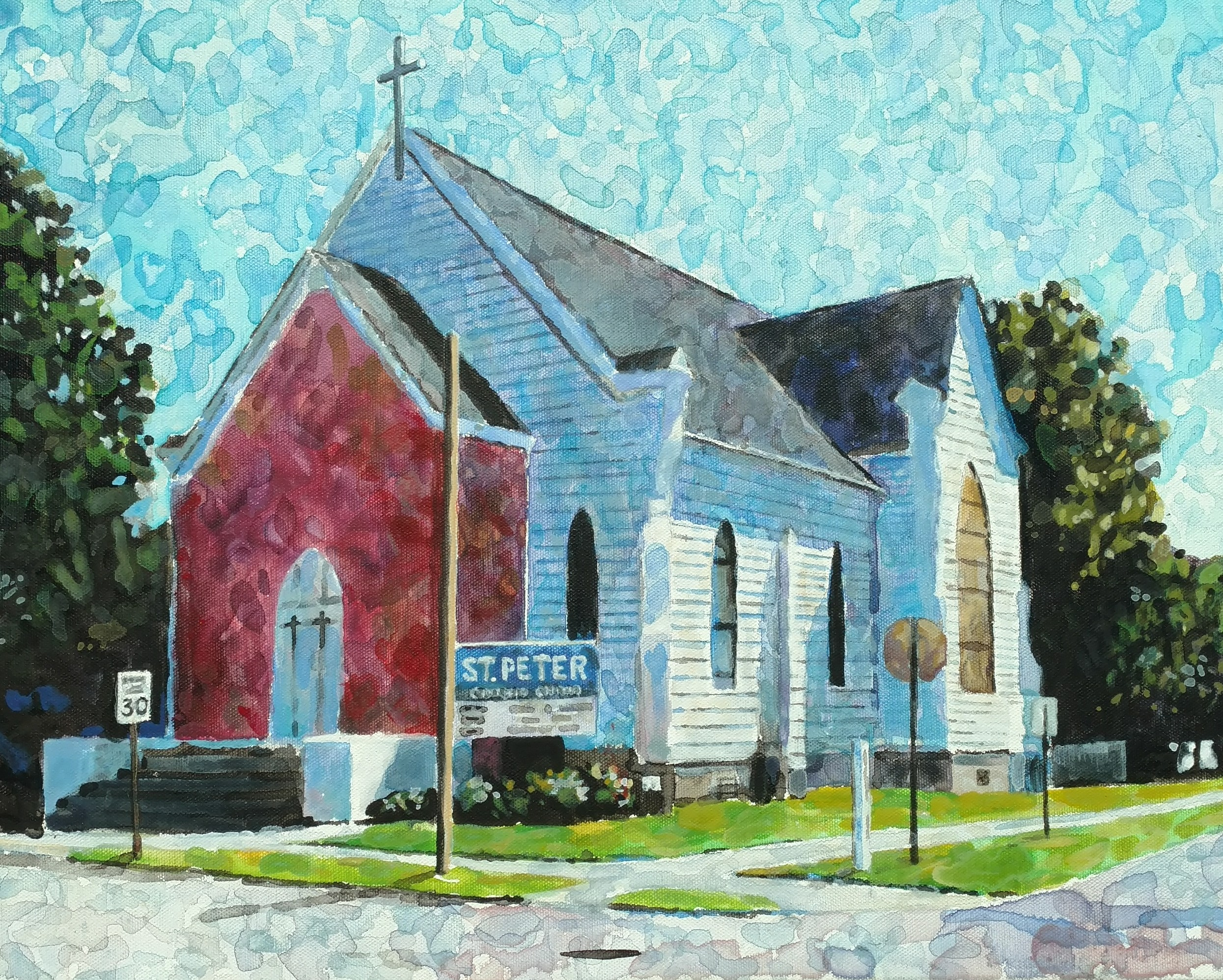 Second attempt at one of my favorite Pine Bluff churches